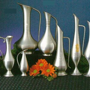 Pewter Water Pitcher